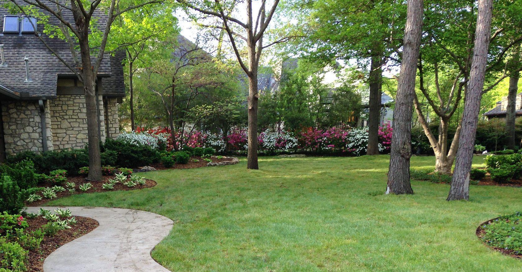 Landscape Design Front Lawn