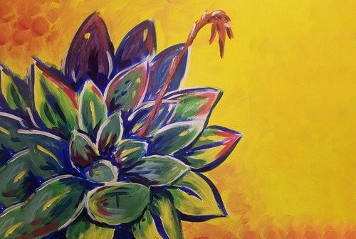 Succulent Love Painting Workshop