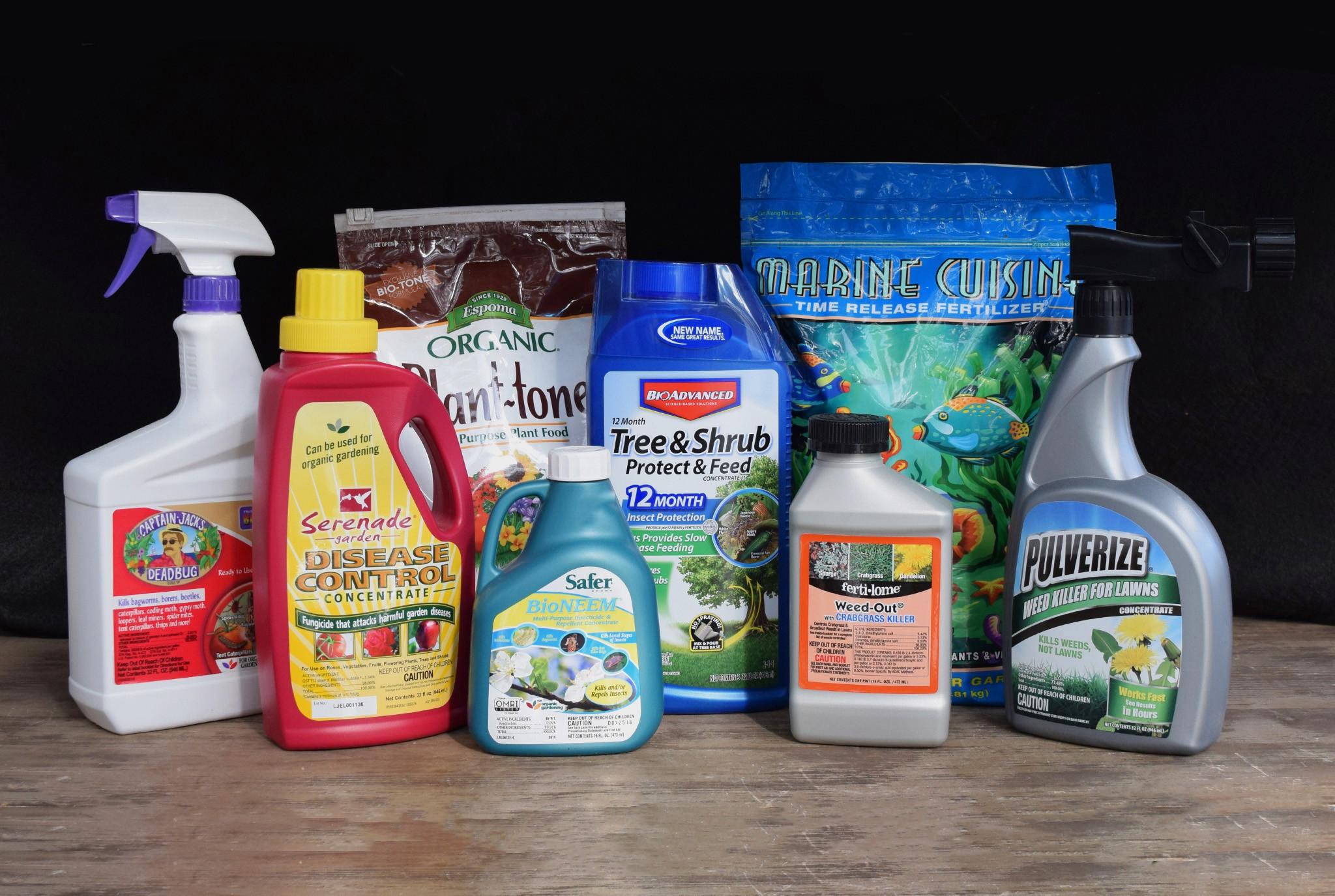 Garden Chemicals Blog Post