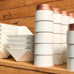 Designer Plastic Pots